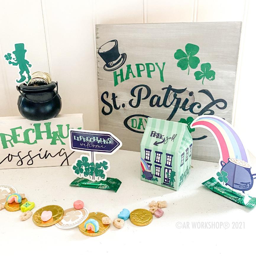 DIY St. Patrick's Day decor