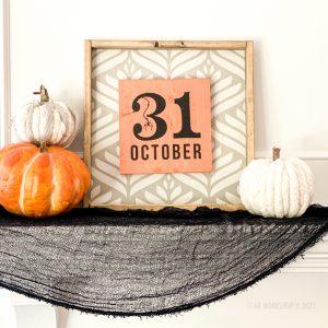 DIY Halloween decor