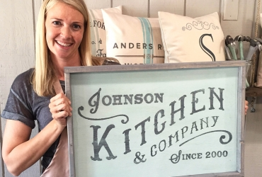 Kitchen And Company Established Sign U2013 18×26